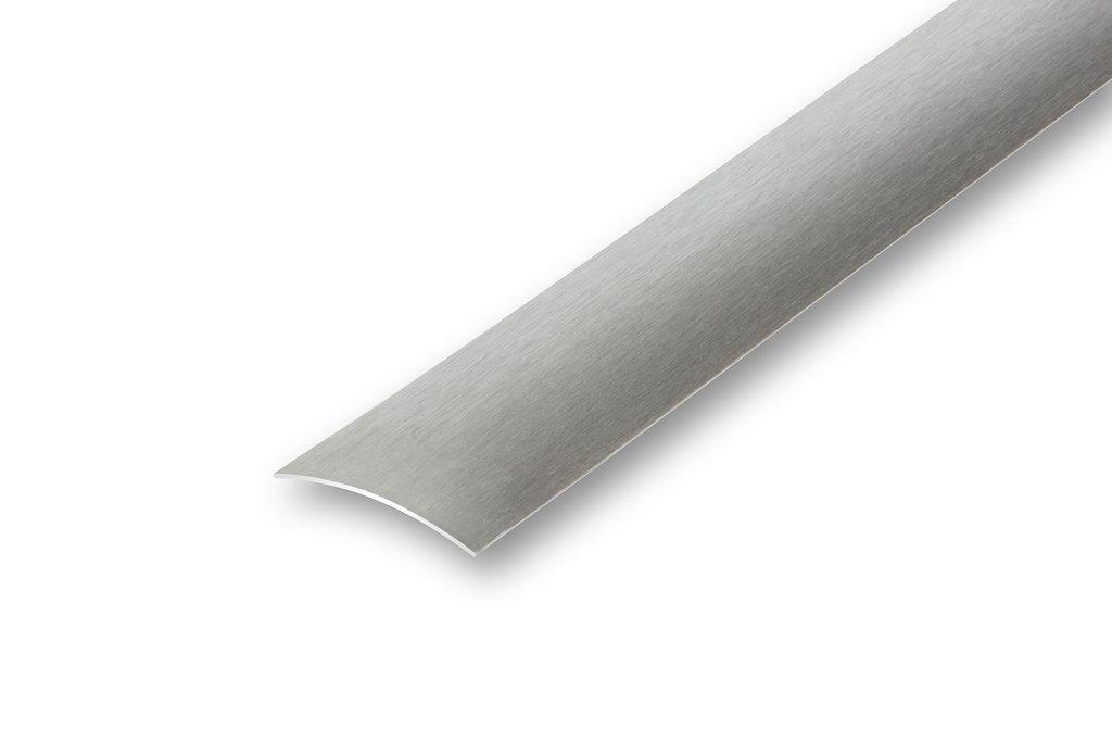 Edelstahl /Übergangsprofil ungebohrt 30 x 900 mm matt geschliffen zum selber Kleben 30 x 900 mm, matt geschliffen 4,28/€//m