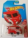 2017 Hot Wheels Target Exclusive Red Edition 12/12 - Volkswagen Kool Kombi (Red)