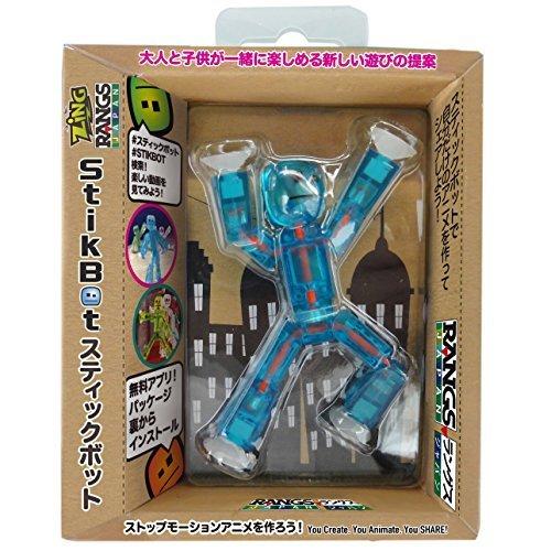Rangusu Japan (RANGS) stick bot Single Pack S1 Blue