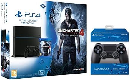 PlayStation 4 (PS4) - Consola 1 Tera + Uncharted 4 + mando ...