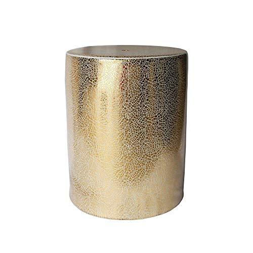 Sagebrook Home 13168-01 Ceramic Garden Stool, 13.5