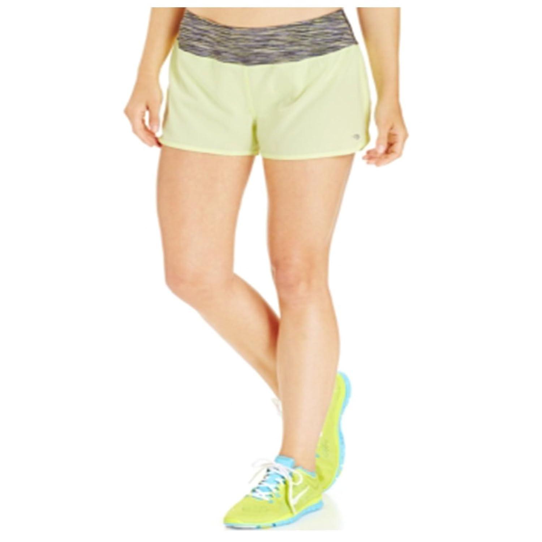 Ideology Women's Woven Speed Sport Shorts XL Light Green