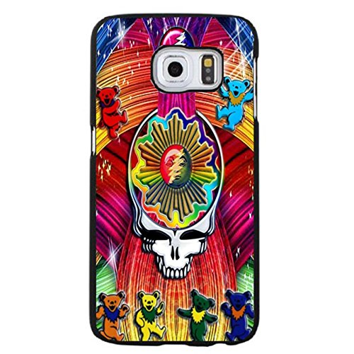 Fancy Bears Design Psychedelic/Country Rock Band Grateful Dead Phone Case Cover for Samsung Galaxy S6 Edge Plus Folk Album Rock Style