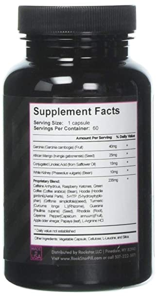 amazon com skinny gal weight loss for women diet pills by rockstar the 1 thermogenic diet pill and fast fat burner carb block appetite suppressant