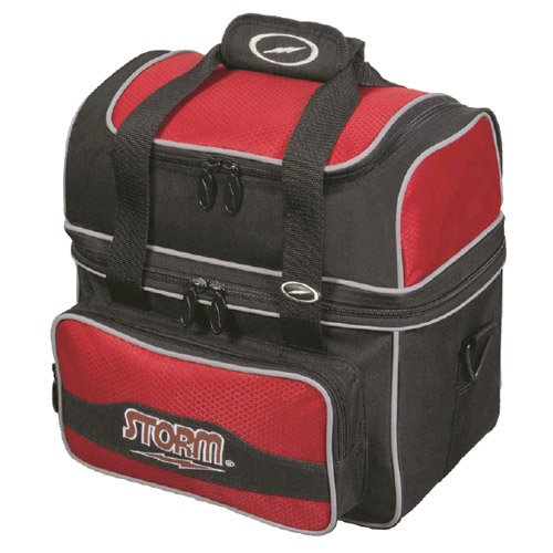 Storm Flip Tote Bowling Bag (1-Ball), Red by Storm