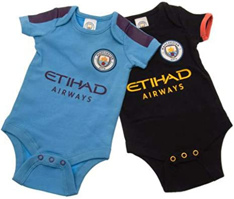 Manchester City FC 2 Baby Bodysuits NWT