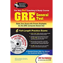 GRE General Test w/ CD-ROM (GRE Test Preparation)