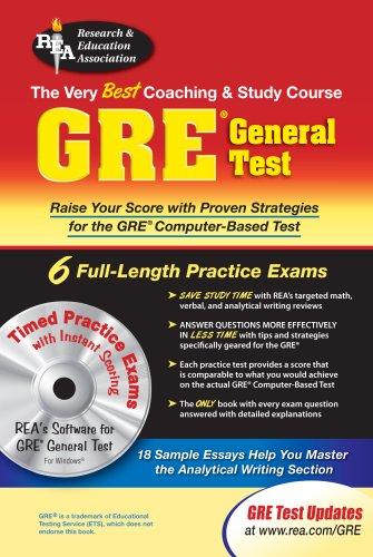 GRE General Test w/ CD-ROM (GRE Test Preparation)