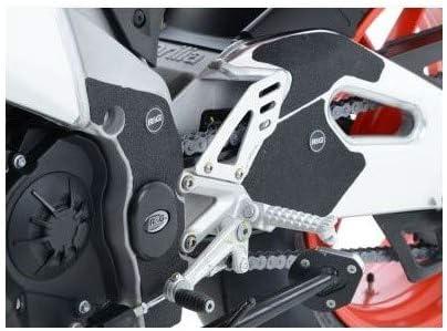Adesivo anti-sfregamento RF//Tuono V4 R/&G Racing EZBG001BL compatibile con//ricambio per telaio//forcellone RSV4 RR