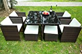 Merax Outdoor Rattan Lounge Set 3 Pcs Sofa Wicker Sectional Garden Patio Furniture Review