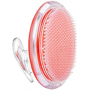 Exfoliating Brush, Body Brush, Ingrown Hair and Razor Bump Treatment – Eliminate Shaving Irritation for Face, Armpit, Legs, Neck, Bikini Line – Silky Smooth Skin Solution for Men and Women by Dylonic