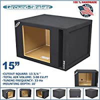 15 Single Vented Slot Ported Solobaric Sub Box For Kicker L7 L5 L3 Subwoofer Enclosure