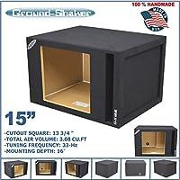 15 Single Vented Slot Ported Solobaric Sub Box For Kicker L7 L5 L3 Subwoofer Enclosure