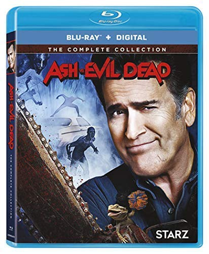 Ash Vs. Evil Dead Ssn 1-3 Coll [Blu-ray] (Ruby Bucket Of Blood)