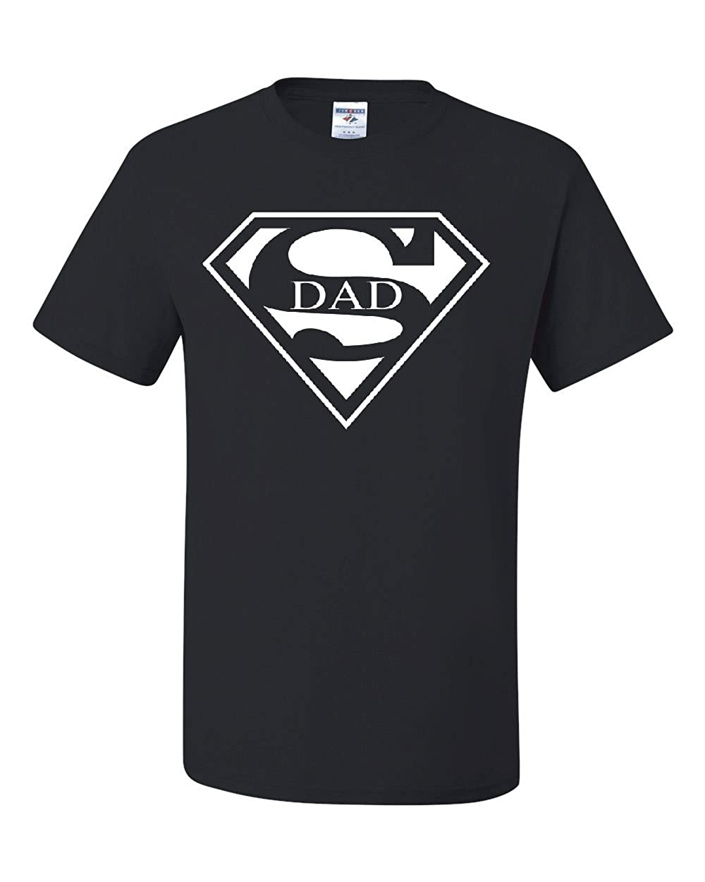 054d1828 Amazon.com: Super Dad T-Shirt Funny Superhero Father's Day Tee Shirt:  Clothing