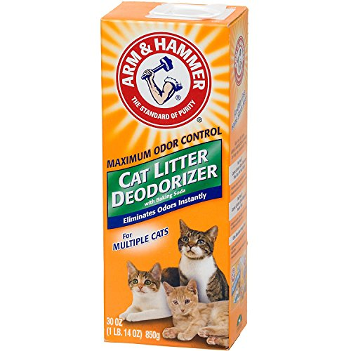 Arm & Hammer Multiple Cat Litter Deodorizer with Baking Soda 517oof1C7EL