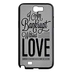 Samsung Galaxy N2 7100 Cell Phone Case Black Bankrupt Love VIU138203