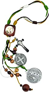 """VILLAGE GIFT IMPORTERS 12"""" Saint Benedict Home Blessing Ornament 