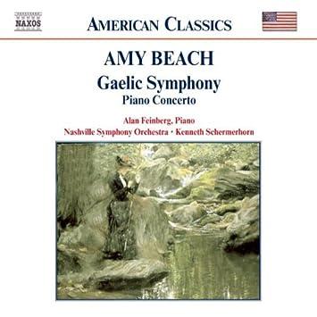 Beach Gaelic Symphony Piano Concerto