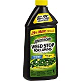 Spectracide 96631 Weed Killer, 40 oz, Pack of 1, Black Packaging