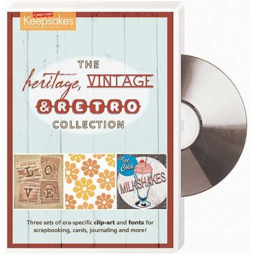 Clip-Art & Font Software – Heritage Vintage & Retro Collection