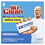 #6: Mr. Clean Magic Eraser Original, Cleaning Pads with Durafoam, 8 count (Packaging May Vary)