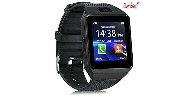 Amazon.com: GuanShan Bluetooth Smart Watch DZ09 Relojes Smartwatch Relogios TF SIM Camera for IOS iPhone Samsung Huawei Xiaomi Android Phone (Black): Cell ...