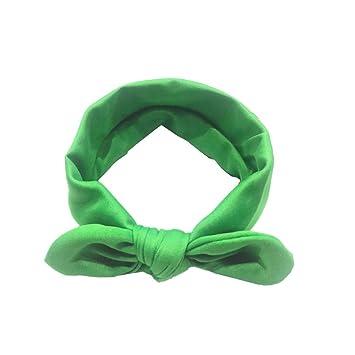 Amazon Com Cute Baby Hairband Kids Girls Rabbit Bow Ear Headband