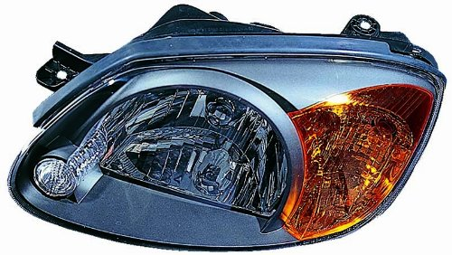 (For 2003 2004 2005 2006 Hyundai Accent Headlight Headlamp Driver Side Replacement Capa Certified)