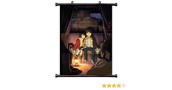 Amazon Erased Boku Dake Ga Inai Machi Anime Fabric Wall