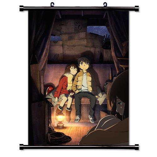 Erased Boku dake ga Inai Machi Anime Fabric Wall Scroll Poster