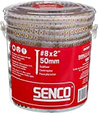 "Senco 08F200Y Duraspin# 8 by 2"" Subfloor Collated"