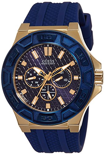 Guess Analog Blue Dial Men's Watch - W0674G2 (B012N6W0SS) Amazon Price History, Amazon Price Tracker