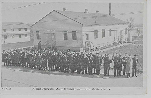 New Cumberland Pennsylvania Army Reception Ctr 1st formation antique pc Z11315
