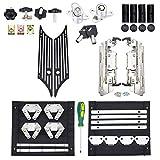 Amazicha Saddlebag Saddle bag Hardware Kit Black Billet Latch...