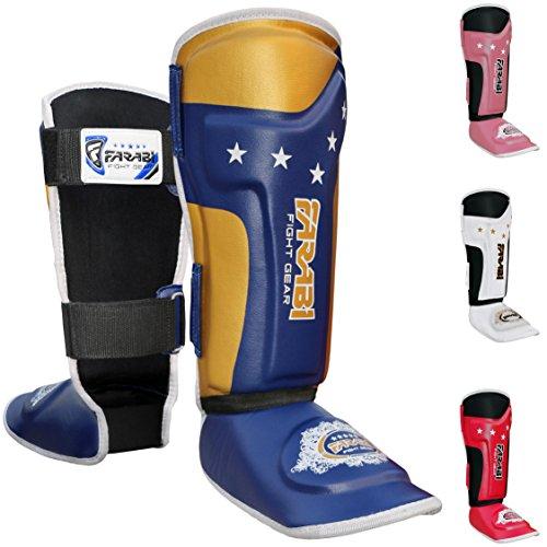 Kids shin pads shin instep Junior muay thai MMA shin pads shin instep leg and foot - Shin Protector Instep