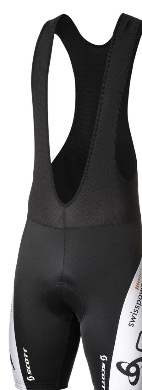 Odlo Herren Trägerhose und Latz Radsport Tights Shorts Suspenders Swiss Power Repl