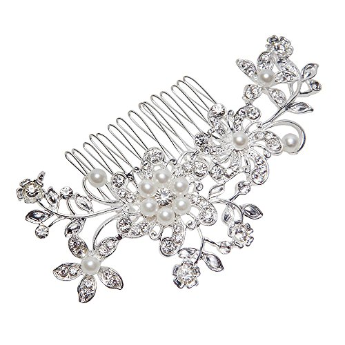 Leegoal Wedding Jewelry Crystal Rhinestone