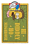 Merchandiseonline Simpsons - Door/Floor Mat (Size: 24' x 16') (Doormat) (Ned Flanders - Hi Diddly Ho Neighbour)
