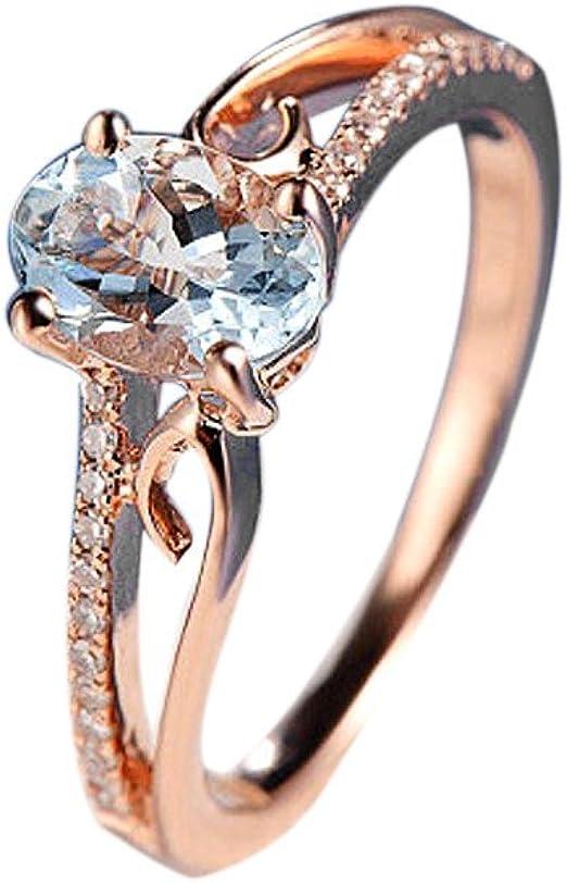 Amazon Com Pandora Rings Alalaso Exquisite Women Oval Ring