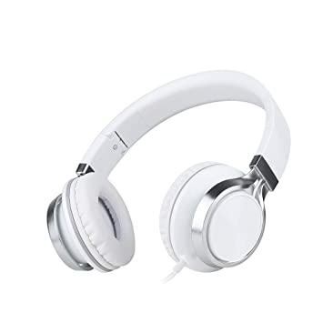 ... inalámbricos Plegables Bluetooth Sobre Oreja con micrófono y Control de Volumen, Auriculares inalámbricos y con Cable para PC/Teléfonos móviles/TV: ...