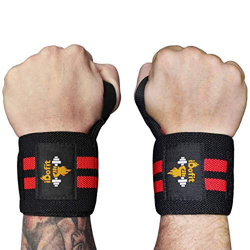 iDofit Wrist Wraps Support (Pair) - 18