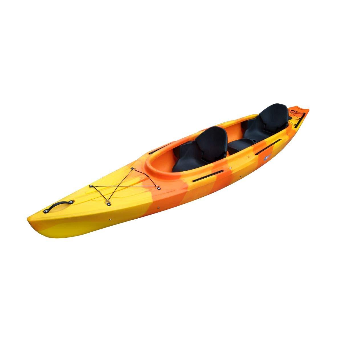 Cambridge Kayaks ES,Gemini Naranja Y Amarillo Kayak Canoa Doble ...