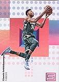 #9: 2017-18 Panini Status #50 Giannis Antetokounmpo Milwaukee Bucks