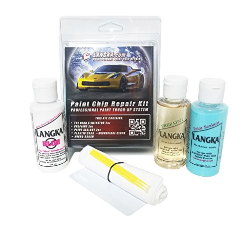 Repair Paint Scratch Chip (Langka Complete Paint Chip Repair Kit)