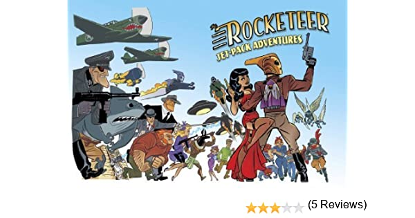 Rocketeer: Jet-Pack Adventures The Rocketeer by J. Bone Gregory Frost Yvonne Navarro Don Webb Simon Kurt Unsworth Cody Goodfellow Nicholas Kaufmann 2014-09-16: Amazon.es: J. Bone Gregory Frost Yvonne Navarro Don Webb Simon