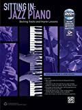 sitting in jazz piano backing tracks and improv lessons book dvd rom sitting in series