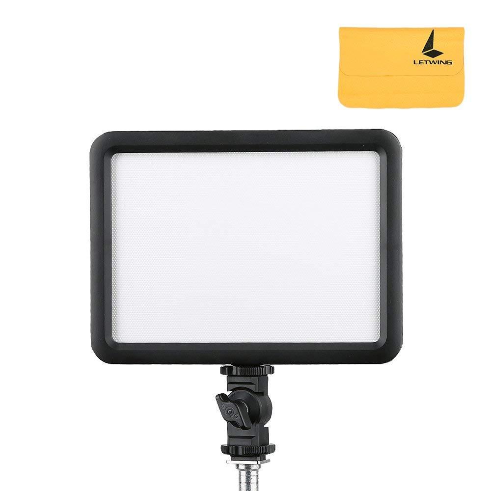 Godox LEDP-120C Portable Video Light Changeable Lithium battery-powered Lamp Light 3300K~5600K for DSLR Camera Camcorder LED 64 Flash Light