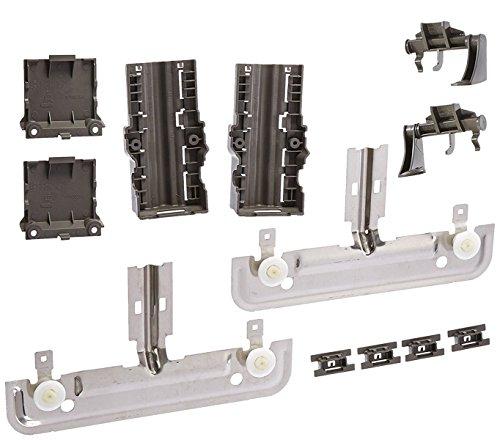 Siwdoy W10712395 Rack Adjuster Kit for Whirlpool Dishwasher Adjuster PS10065979 AP5957560 W10350375 W10250159