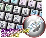 SMOKE GALAXY SERIES KEYBOARD STICKERS 12X12 SIZE